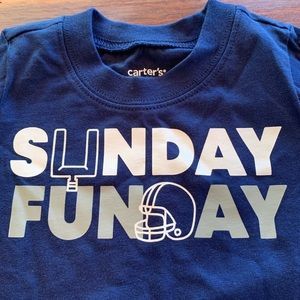 Carters Sunday Funday Shirt